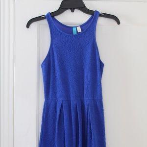 Royal blue dress!